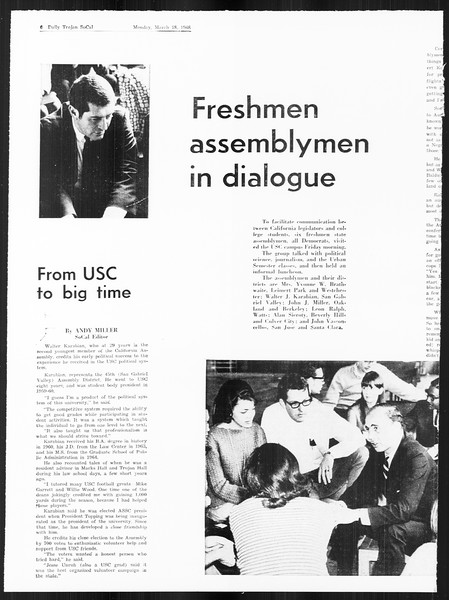 SoCal, Vol. 59, No. 92, March 18, 1968