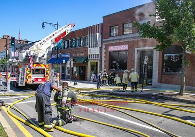 Brookline, MA - 3rd Alarm, 1299 Beacon Street, 7-19-18