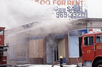 1/31/1979 - BOSTON, MASS - WORKING FIRE 1305 DORCHESTER AV
