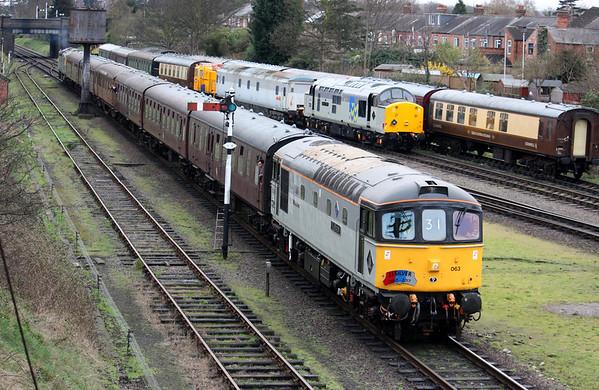 Great Central Railway Diesel Gala, 18th March 2017