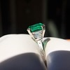 3.08ct Vintage Emerald Solitaire, by Tiffany & Co 1