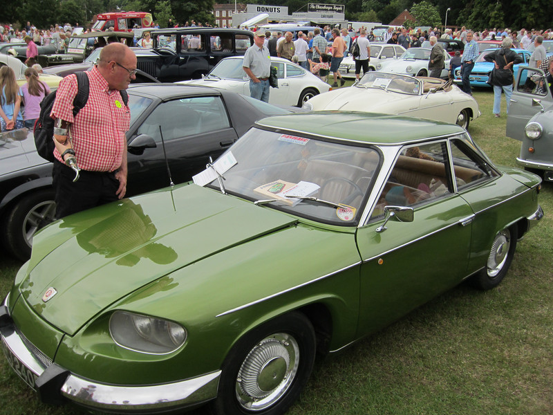 This Panhard had a two cylinder engine