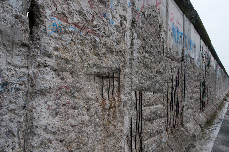 Dilapidated walls in Berlin, Germany
