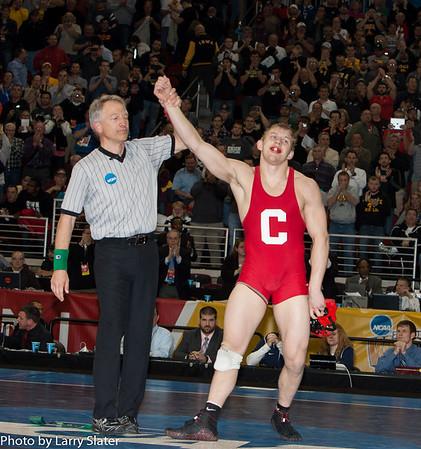 165 Champion Kyle Dake (Cornell) def. David Taylor (Penn State) 2013 NCAA Wrestling Championships
