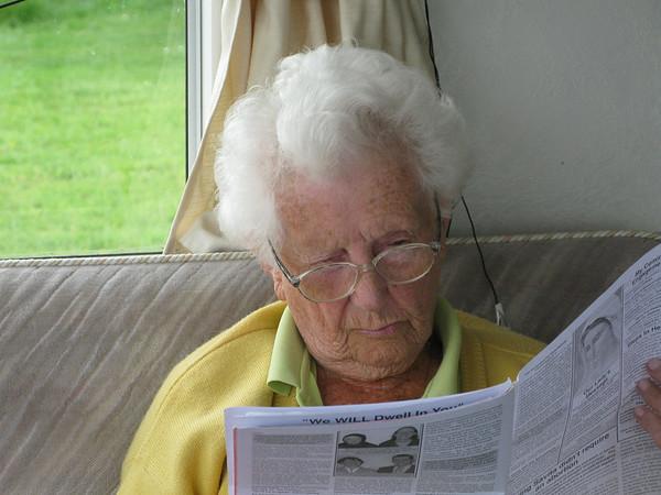 Gran's 99th year