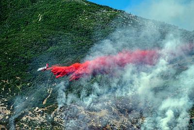 Farmington hillside wild fire June 23 2017