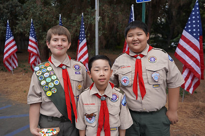 Troop 351 Scouts Celebrate Their Centennial