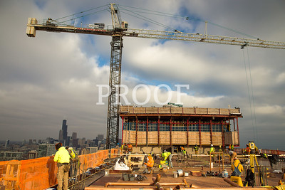 McCormick Place Arena & Hotel Construction