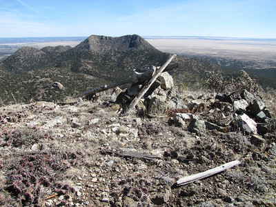 San Pedro Mountain-Cerro Columbo-Old Mines Hike  2-17-14