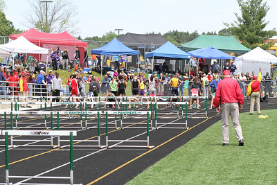 Girl's 100 Meter Hurdle Finals - 2012 MHSAA LP T&F