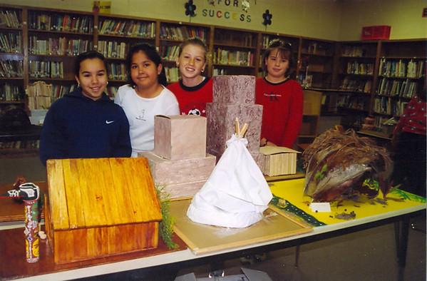 February 2000 Indian Project Treasure Hills Elem. NASA Speaker