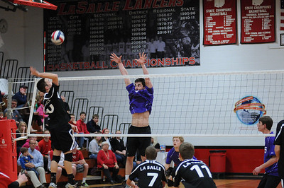 2014 Varsity Volleyball vs. LaSalle (05/02/2014)