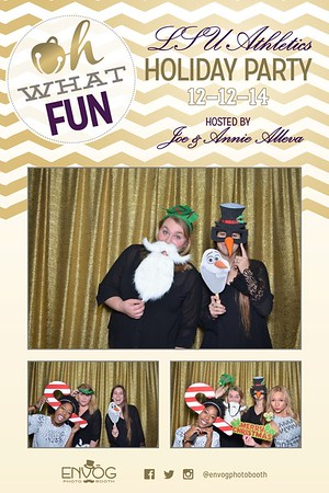 LSU Athletics Holiday Party (prints)