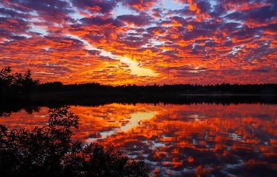 Lake Pinehurst Sunsets