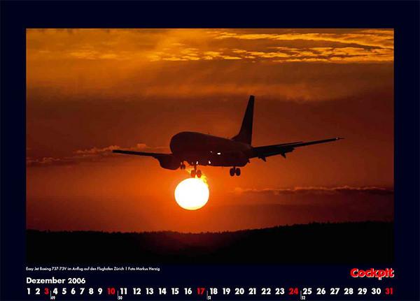 Cockpit Calendar – Dec 2006