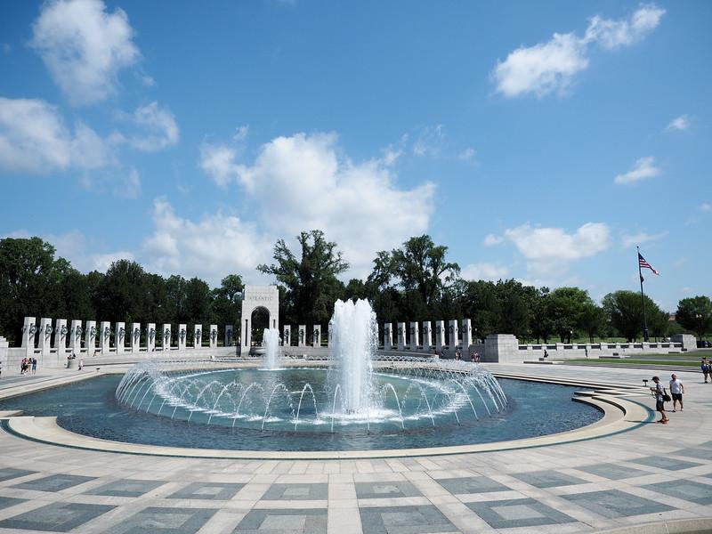 WWII Memorial in Washington, DC