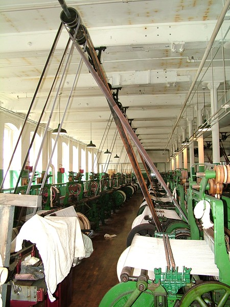 Boott Cotton Mill - Weave Room - Lowell, MA