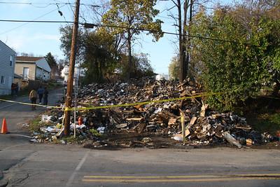 Fire Aftermath, 220 Valley Street, New Philadelphia (10-23-2011)