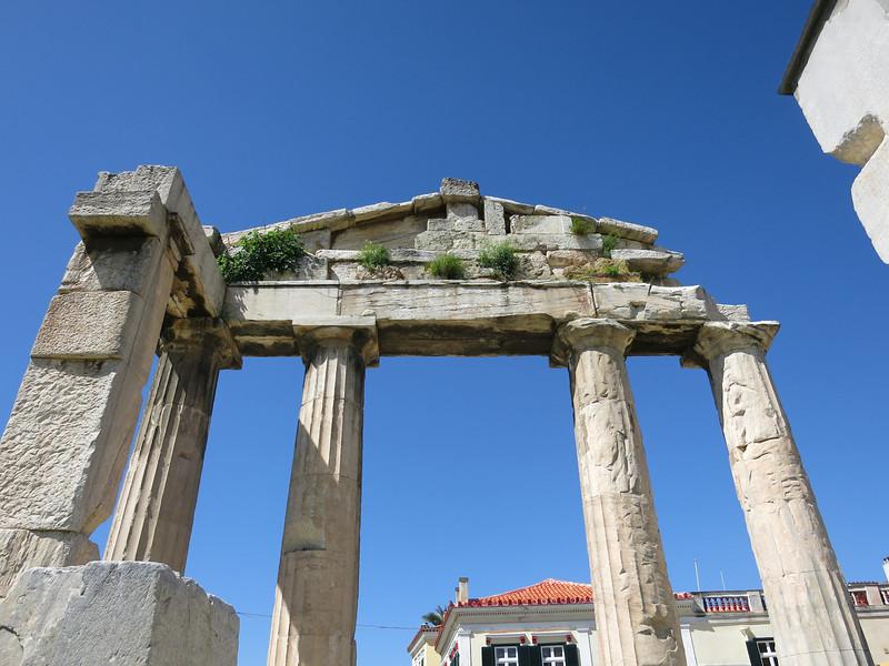 Gate of Athena Archegetis, 11 BCE