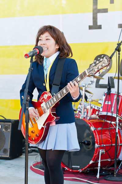 K-ON!  Mini Live performs at the 2011 J-POP Summit Festival on the Pagoda Stage
