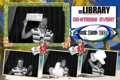 LBCC Library De-Stress Event
