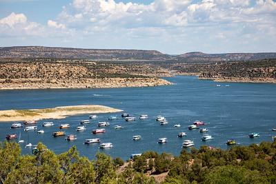 Navajo Dam and Navajo Lake August 2021