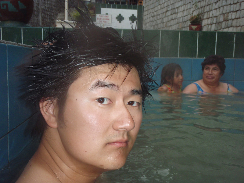 Hot springs that smelled like chicken soup