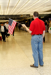 Honor Flight 5 part 8 DC Return