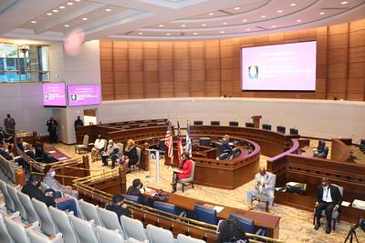 Commissioner Abdur-Rahman Public Inauguration Ceremony 1/7/21