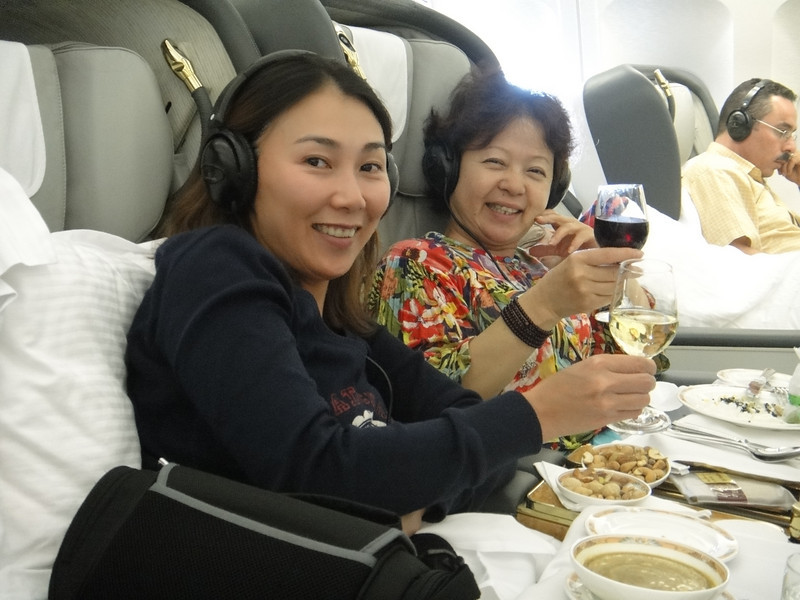 [20101009] Day 10 - BB 1st Class on Emirates Airlines (10).JPG