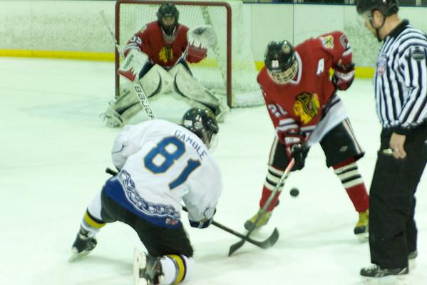 Michigan Ice Hawks at Hatfield Ice Dogs 16A White 2-15-2014