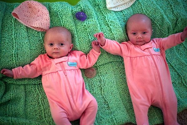 Twins at Two Months