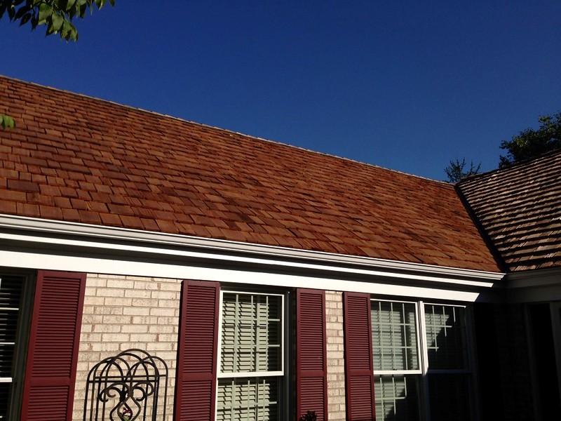 Cedar Roof Installation in Glenview Illinois