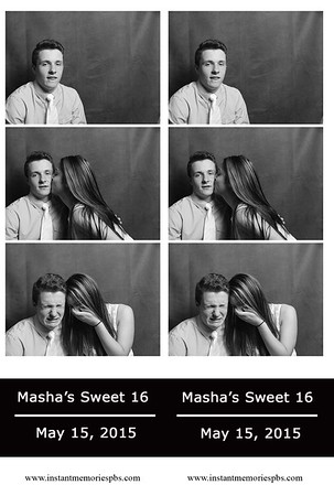 Masha's Sweet Sixteen 5-15-2015