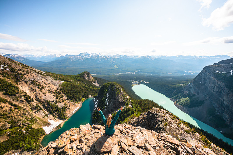 Devil's Thumb Lake Louise July 2020