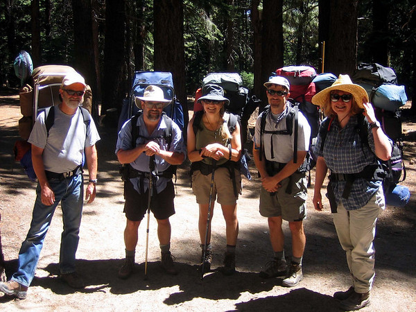 Peeler Lake Backpacking 2005