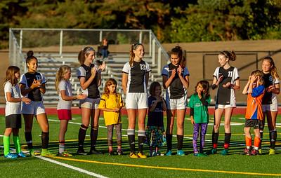 Set one: Girls Varsity Soccer v Cascade Christian 09/25/2018