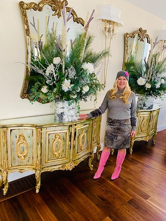 A winter affair gushes with flair - February 10, 2019