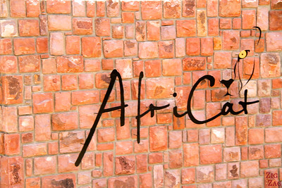 Africat sign, Namibia