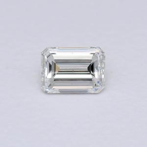 0.52 Emerald Cut H-VS2 GIA (Sr2058)