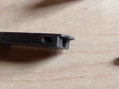 Later Model Lever Latch - Disassembled