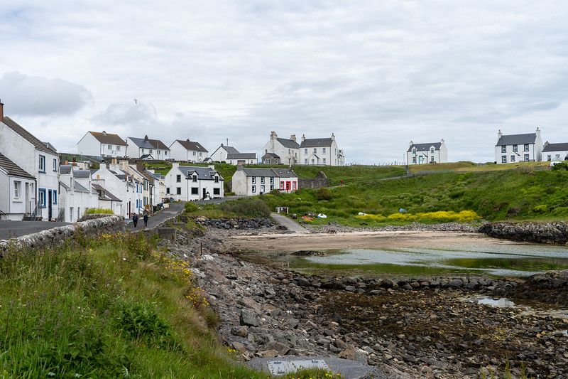 Town of Portnahaven on Islay