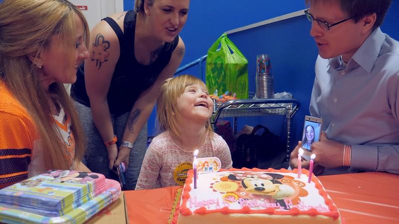 Makenzie's 5th Birthday Party