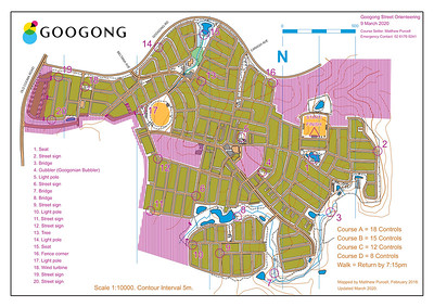 9 March 2020 Googong street O