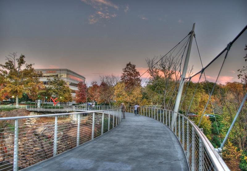 Liberty Bridge at Falls Park - Greenville, SC