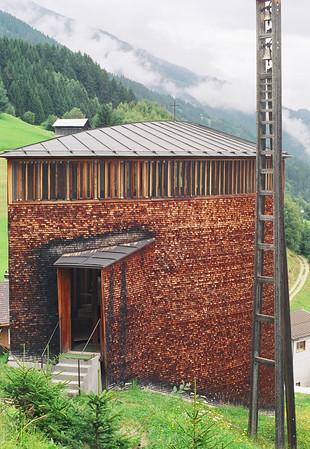 Caplutta Sogn Benedeg - Sumvitg, Switzerland - 35mm