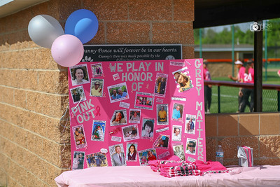 Lady Tigers Softball_Pink Out Day