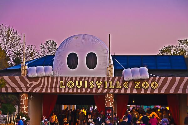Louisville Zoo Halloween 2011