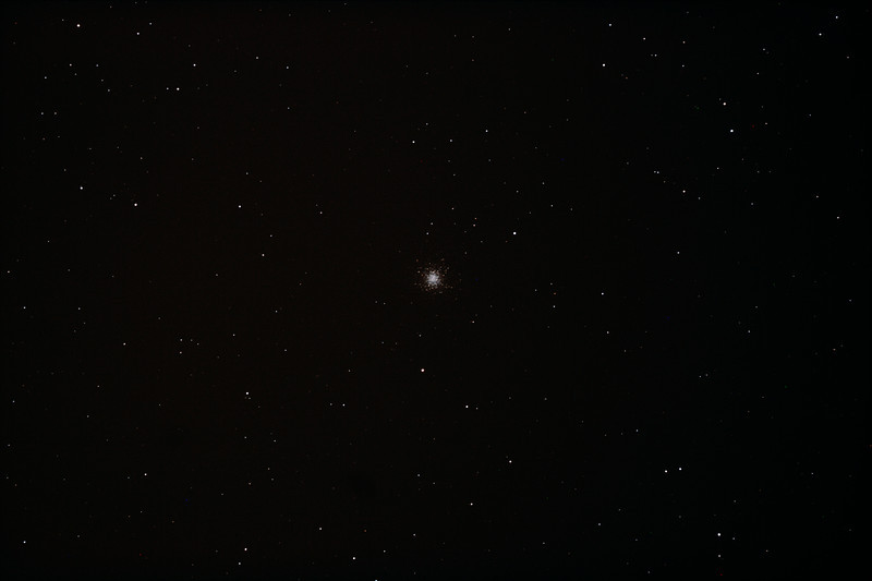 Messier M13 - NGC6205 Hercules Globular Cluster - 23/5/2012 (Processed stack)