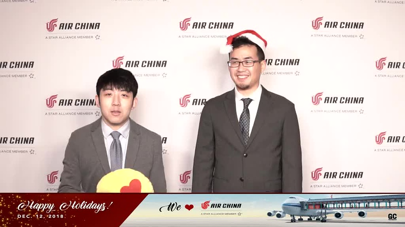 12-13-18 Air China Holiday Party